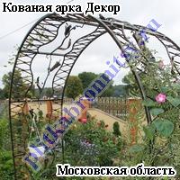 Кованая арка Декор