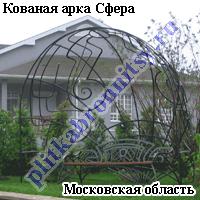 Кованая арка Сфера