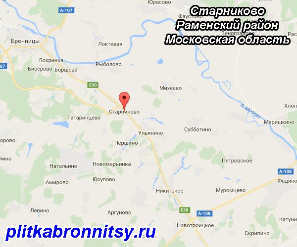 Старниково (Раменский район Московская область)