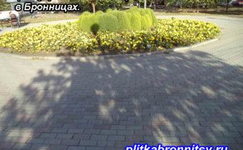 Укладка тротуарной плитки Бронницы