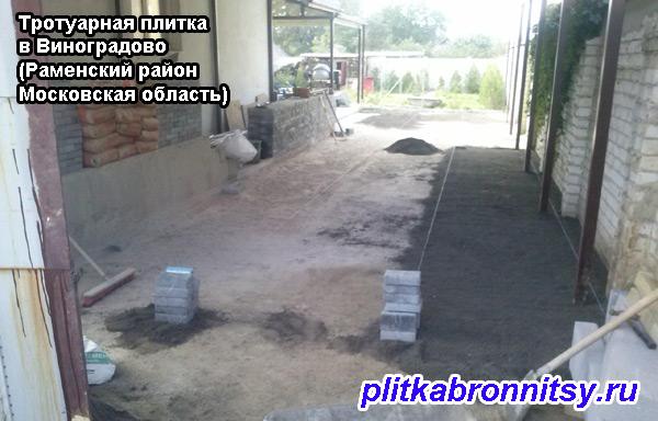 Тротуарная плитка в Виноградово