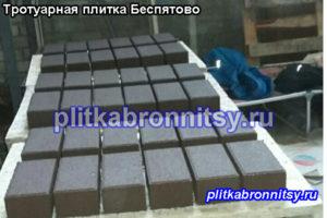 Производство тротуарной плитки в деревне Беспятово Раменского района
