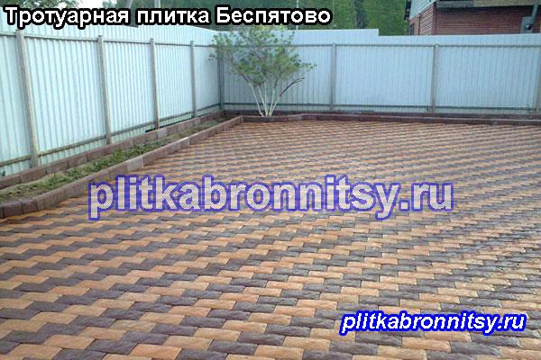 Ещё примеры укладки брусчатки на даче в Раменском районе, Московской области