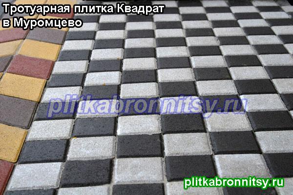 Схема укладки плитки Квадрат: Шахматы