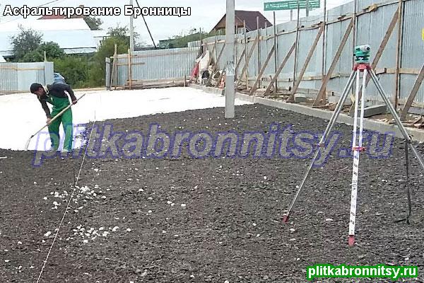 Примеры наших работ по асфальтированию в Раменском районе Московской области