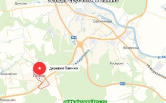 Работы велись на даче в деревне Панино Раменского района Московской области